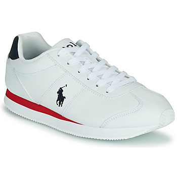 Shoes Boy Low top trainers Polo Ralph Lauren PONY JOGGER Marine