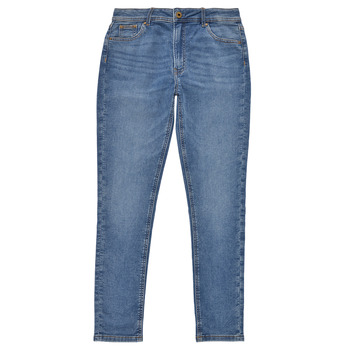 Clothing Girl Skinny jeans Pepe jeans PIXLETTE HIGH Blue