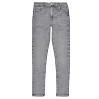 Clothing Girl Skinny jeans Pepe jeans PIXLETTE HIGH Grey