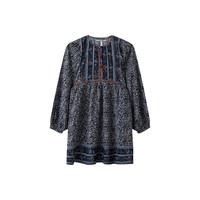Clothing Girl Short Dresses Pepe jeans SUSA Black