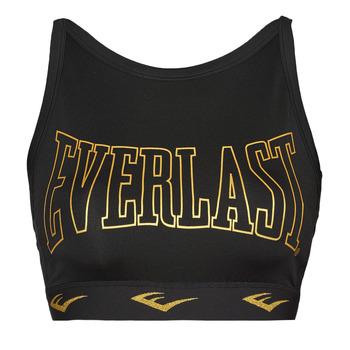 Clothing Women Sport bras Everlast DURAN Black / Gold