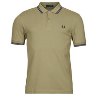 Clothing Men Short-sleeved polo shirts Fred Perry THE FRED PERRY SHIRT Beige