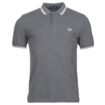 Clothing Men Short-sleeved polo shirts Fred Perry THE FRED PERRY SHIRT Grey