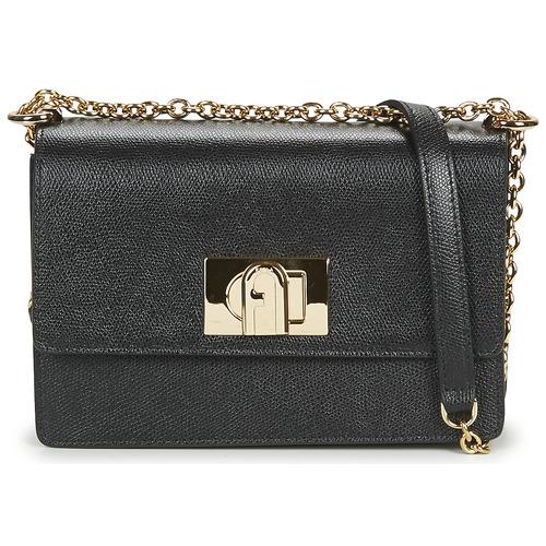 Bags Women Shoulder bags Furla FURLA 1927 MINI CROSSBODY 20 Black