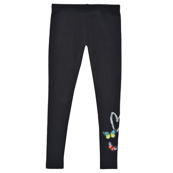Clothing Girl Leggings Desigual TEO Black