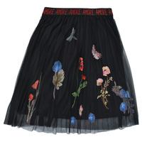 Clothing Girl Skirts Desigual ANDREA Black