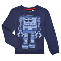 Clothing Boy Sweaters Desigual ROBLE Marine