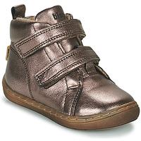 Shoes Girl Hi top trainers Bisgaard DEE Silver