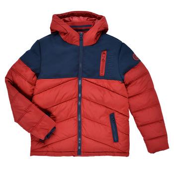 Clothing Boy Duffel coats Kaporal JEGA Red / Marine