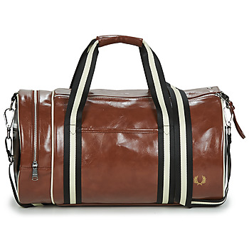 Bags Men Sports bags Fred Perry CONTRAST COLOUR BARREL BAG Brown