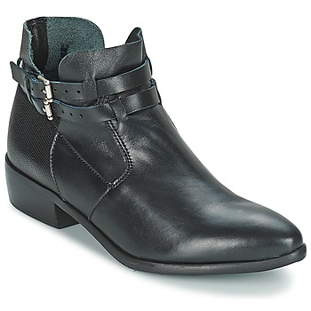 Shoes Women Mid boots Stephane Gontard DEGAINE Black