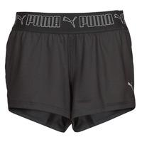 Clothing Women Shorts / Bermudas Puma TRAIN SUSTAINABLE SHORT Black