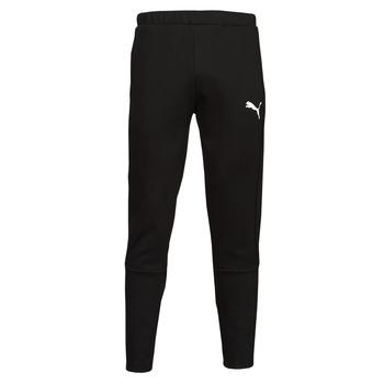 Clothing Men Tracksuit bottoms Puma EVOSTRIPE CORE FZ PANT Black