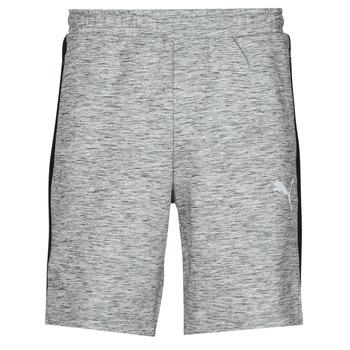 Clothing Men Shorts / Bermudas Puma EVOSTRIPE SHORTS 8 Grey / Black