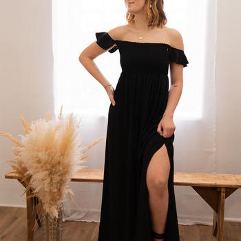 Clothing Women Long Dresses Céleste PATCHOULI Black