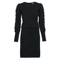 Clothing Women Short Dresses Kaporal DULL Black