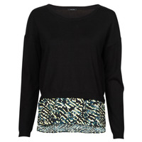 Clothing Women Jumpers One Step FT18121 Black