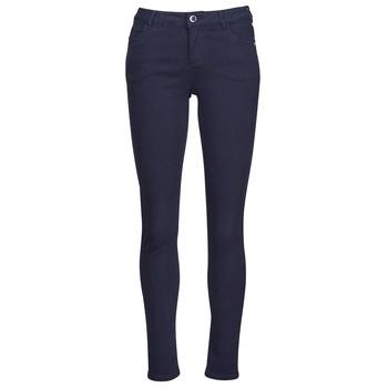Clothing Women 5-pocket trousers Morgan PETRA Marine