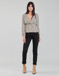 Clothing Women Straight jeans Freeman T.Porter ALEXA STRAIGHT S-SDM Black