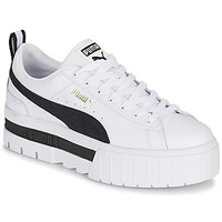 Shoes Women Low top trainers Puma MAYZE White / Black