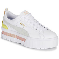 Shoes Women Low top trainers Puma MAYZE White / Pink