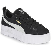 Shoes Women Low top trainers Puma MAYZE Black / White