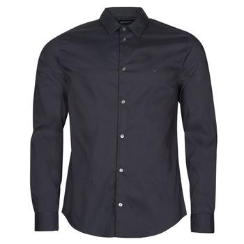 Clothing Men Long-sleeved shirts Emporio Armani 8N1C09 Marine