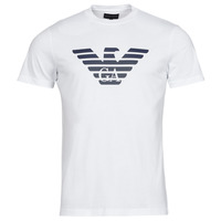 Clothing Men Short-sleeved t-shirts Emporio Armani 8N1TN5 White