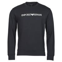 Clothing Men Sweaters Emporio Armani 8N1MR6 Marine