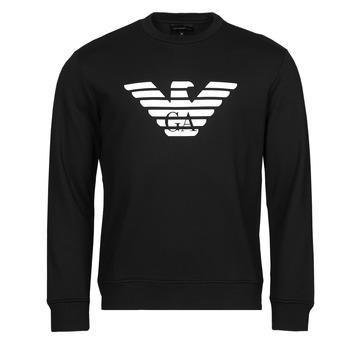Clothing Men Sweaters Emporio Armani 8N1MR6 Black