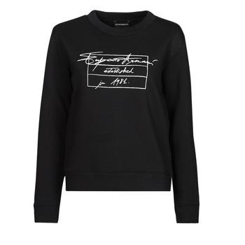 Clothing Women Sweaters Emporio Armani 6K2M7R Black