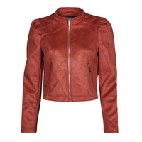 Clothing Women Leather jackets / Imitation leather Only ONLSHELBY Pink