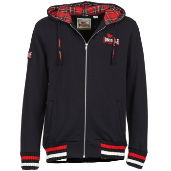 Clothing Men Sweaters Lonsdale LANCASTER Black