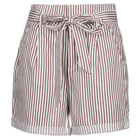 Clothing Women Shorts / Bermudas Vero Moda VMEVA White / Brown