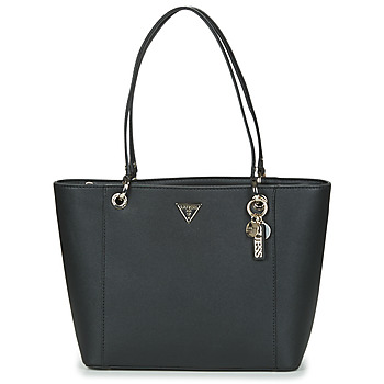 Bags Women Shopping Bags / Baskets Guess NOELLE ELITE TOTE Black