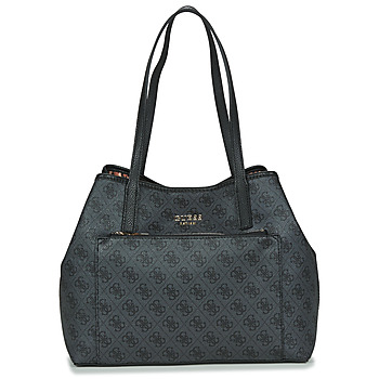 Bags Women Shopping Bags / Baskets Guess VIKKY ROO TOTE Black