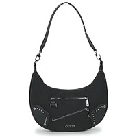 Bags Women Small shoulder bags Guess FRANKIE HOBO Black
