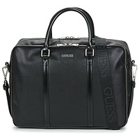 Bags Men Briefcases Guess EVENING WORK BAG Black