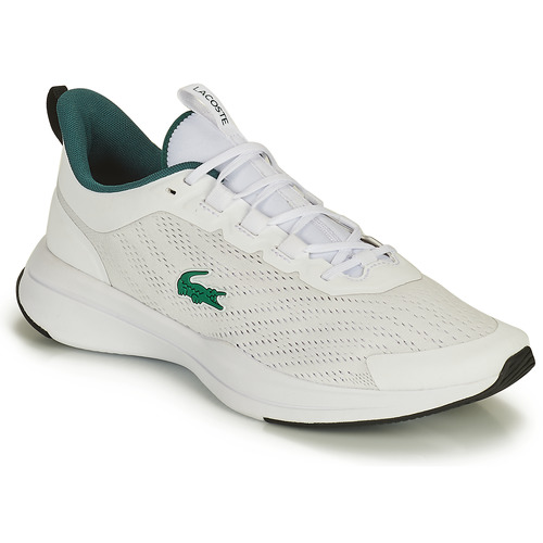 Shoes Men Low top trainers Lacoste RUN SPIN 0121 1 SMA White / Green