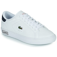 Shoes Women Low top trainers Lacoste POWERCOURT 0721 2 SFA White