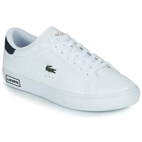 Shoes Women Low top trainers Lacoste POWERCOURT 0721 2 SFA White / Blue
