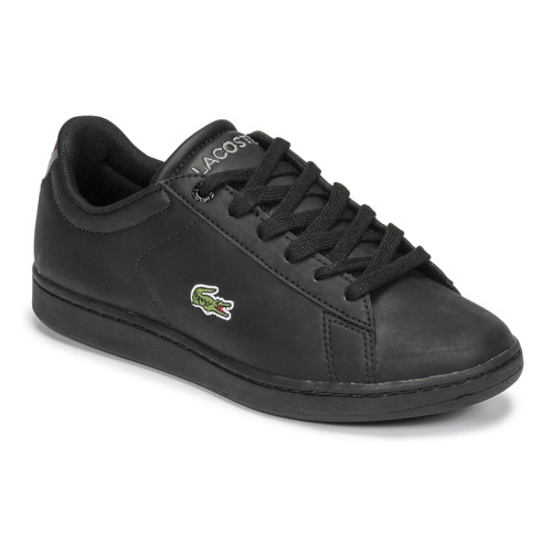 Shoes Children Low top trainers Lacoste CARNABY EVO BL 21 1 SUJ Black