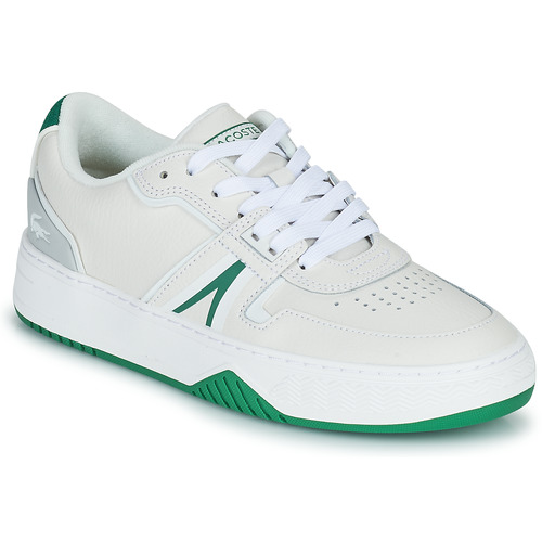 Shoes Women Low top trainers Lacoste L001 0321 1 SFA White / Green
