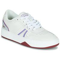 Shoes Women Low top trainers Lacoste L001 0321 1 SFA White / Purple