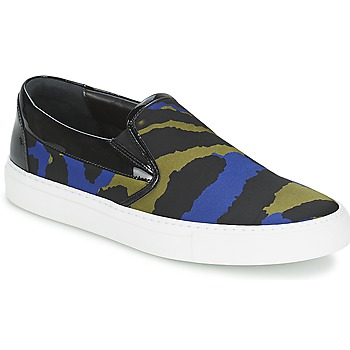 Shoes Women Slip-ons Sonia Rykiel Sonia By - Sketch201 Black / Blue / Kaki