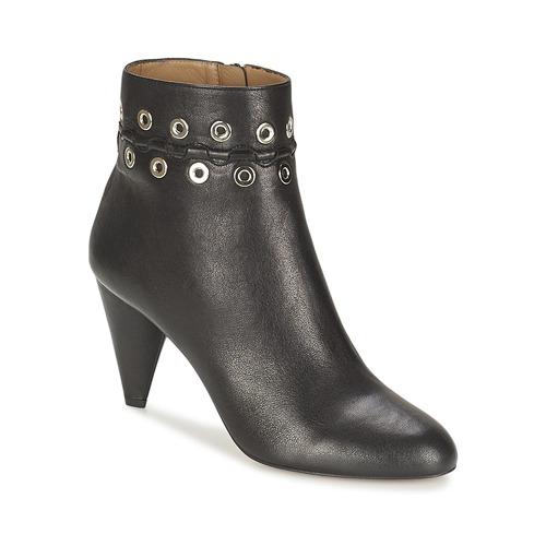 Shoes Women Shoe boots Sonia Rykiel MINI ŒILLETS Black