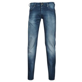 Clothing Men Slim jeans Jack & Jones JIGLENN JJROCK Blue / Medium
