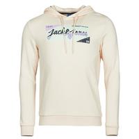 Clothing Men Sweaters Jack & Jones JORLOGON Beige