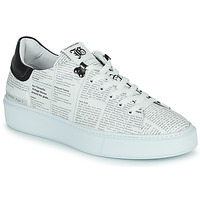 Shoes Men Low top trainers John Galliano MAGDALENO White