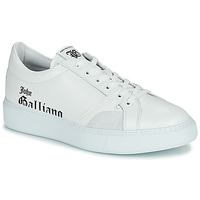 Shoes Men Low top trainers John Galliano MISSISSIPPI White